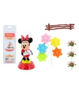 Kit Pvc per torte Minnie
