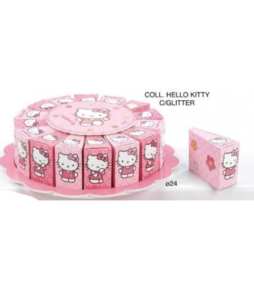 Torta 16 fette Hello Kitty