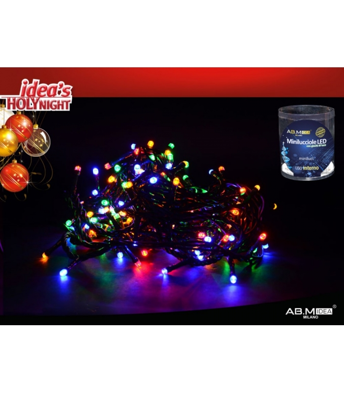 mini luci 180 led da interno plasticasa
