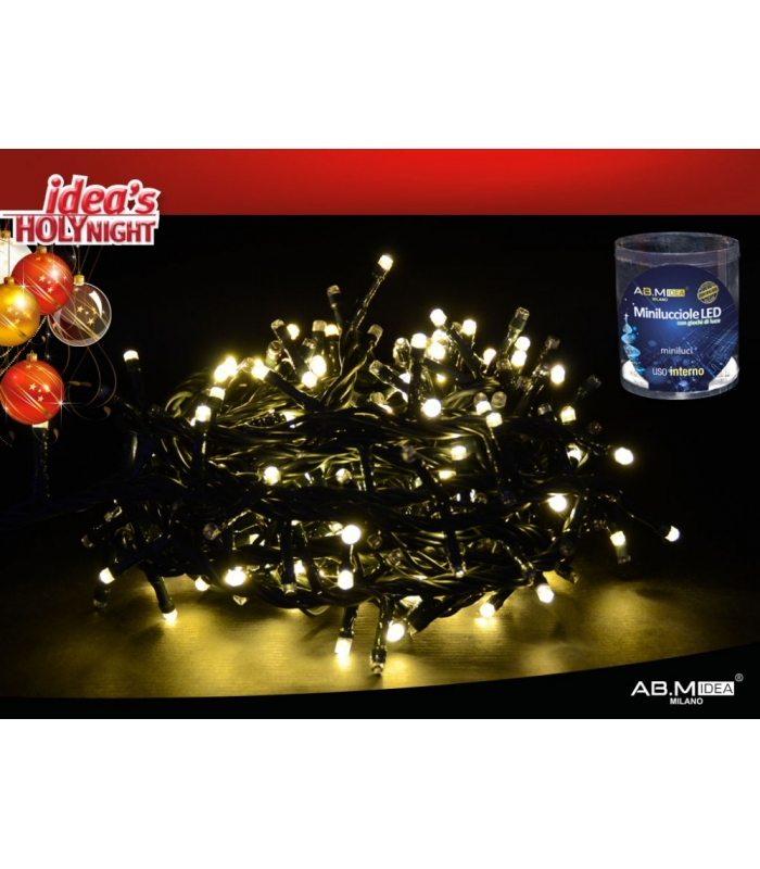 mini luci 360 led da interno plasticasa