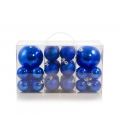BOX 24 PALLINE ASSORTITE BLUE