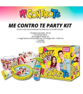 KIT PARTY ME CONTRO TE