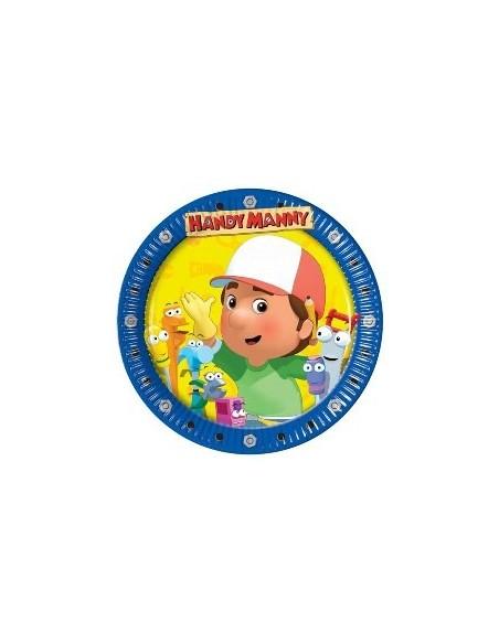 Piatti cm.23 Handy Manny