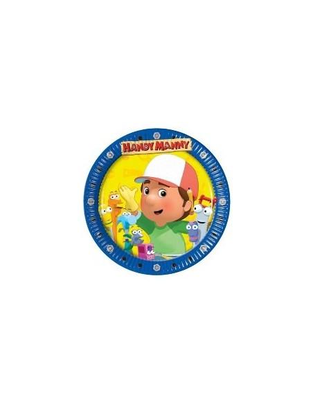 Piatti cm.18 Handy Manny