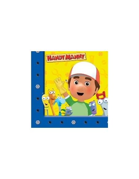 Tovaglioli 33x33 Handy Manny