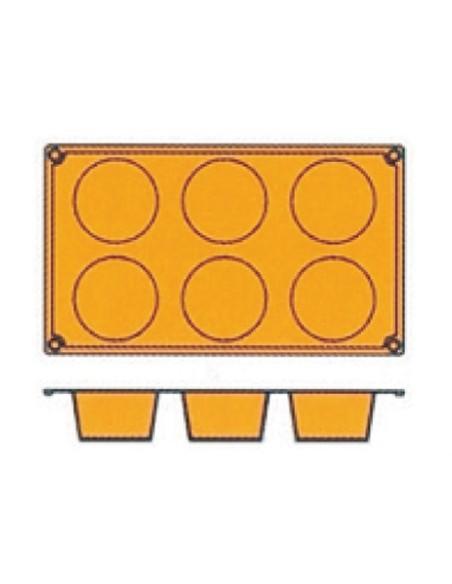 Teglia silicone Muffin Pz.6