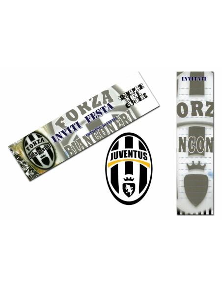 Inviti 20 fogli Juventus